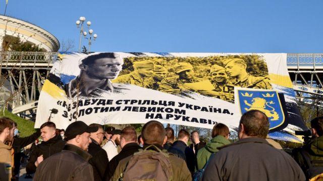 """Марш на честь дивізії СС """"Галичина"""" у Києві"""