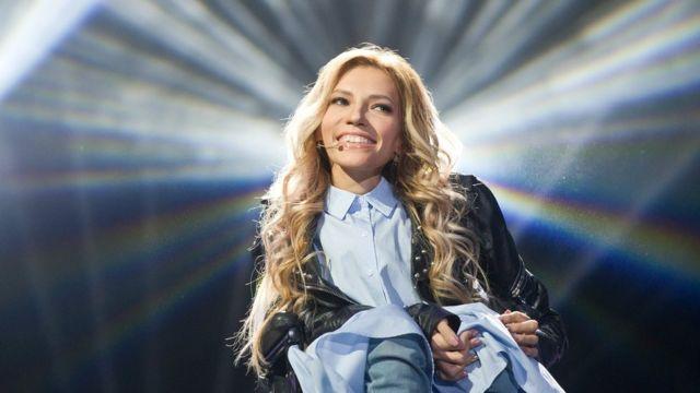 Julia Samoilova 2015'te Kırım'da konser vermişti