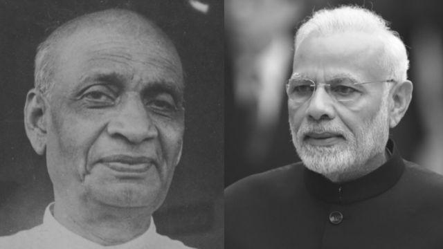 सरदार पटेल और नेहरू