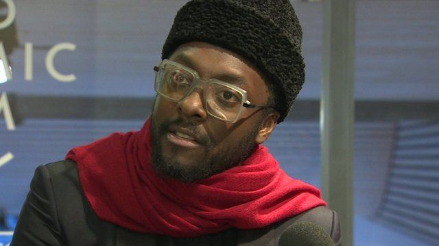 will.i.am in Davos