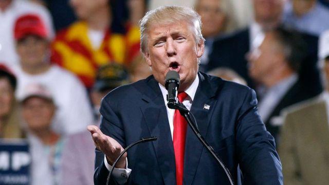 Trump financiou a maior parte de sua campanha com empréstimos