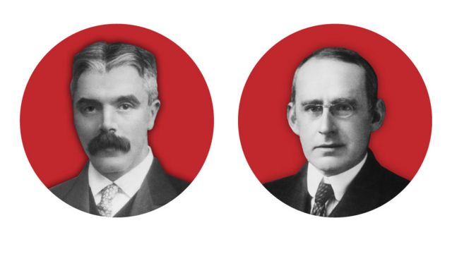 Frank Watson Dyson y Arthur Stanley Eddington
