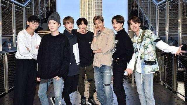 Корейський попгурт BTS