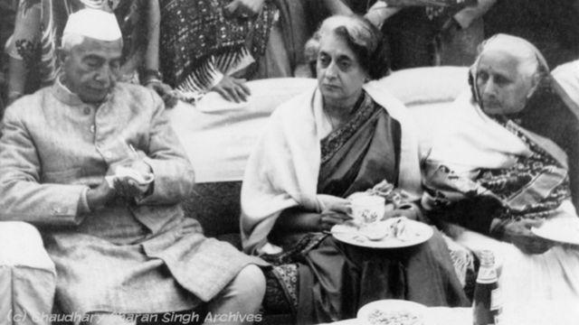 चरण सिंह, इंदिरा गांधी के साथ किसान दिवस