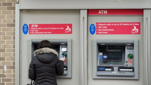 банкоматы в США