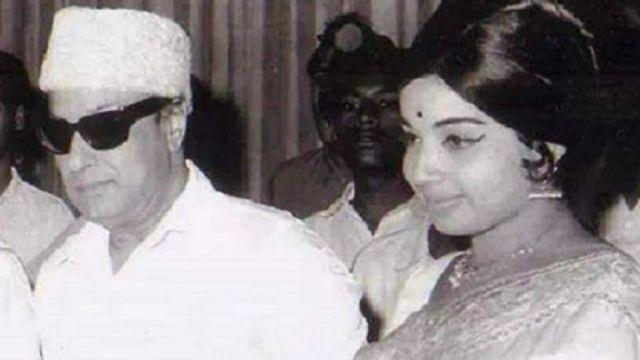 जयललिता और एमजीआर