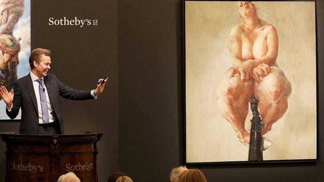 2018年,萨维尔(Jenny Saville)1992年的作品《支撑》创下了在世女艺术家作品拍卖的最高纪录(950万英镑) | Getty Images