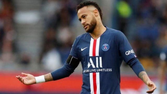 Mshambuliaji wa PSG Neymar Jr