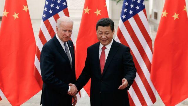 Joe Biden ile Şi Jinping