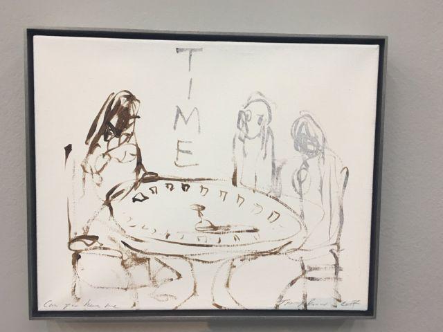картина Эмин на выставке