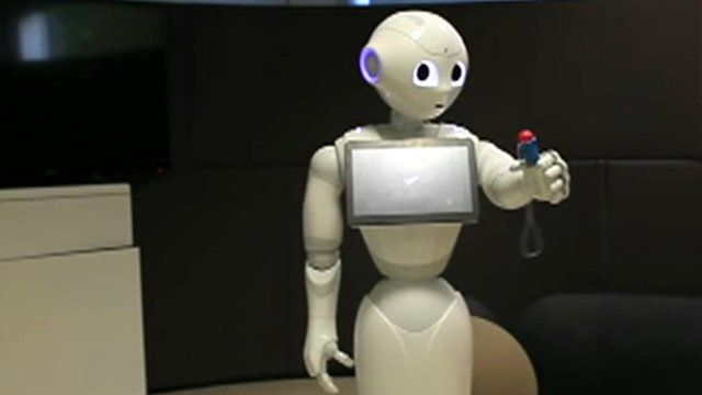 Pepper the robot learns to catch a ball in a cup