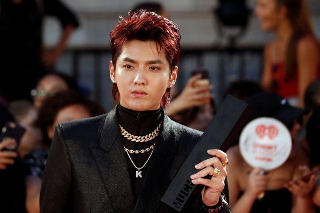 Kris Wu is a former member of the Korean pop singer group EXO.