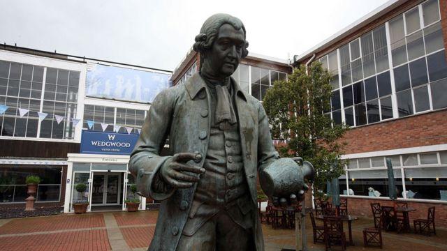 Estatua de Josiah Wedgwood