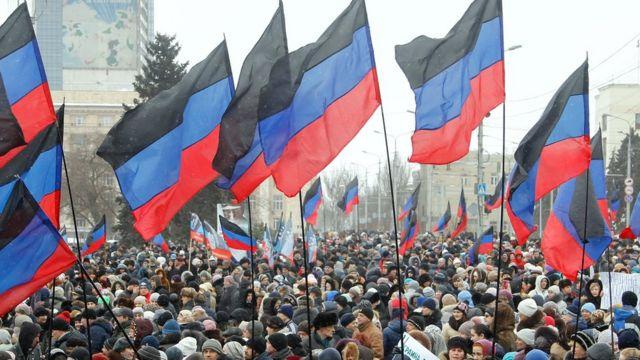 """Мітинг """"ДНР"""" у Донецьку"""