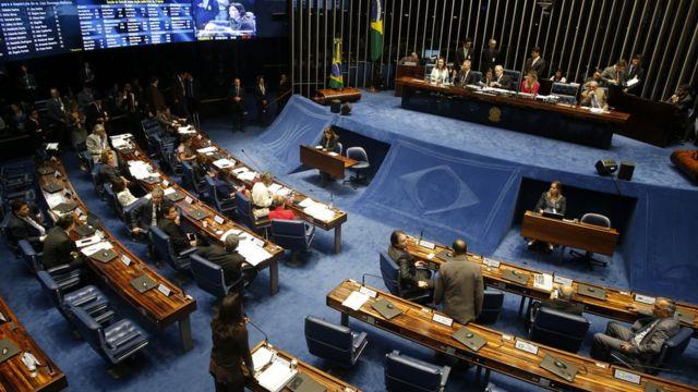 Votação do impeachment no Senado Federal
