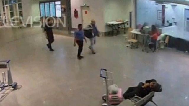 金正男前往机场医疗室