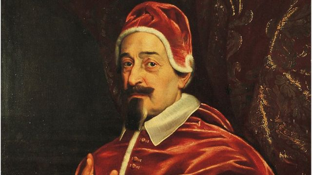O papa Alexandre 7º