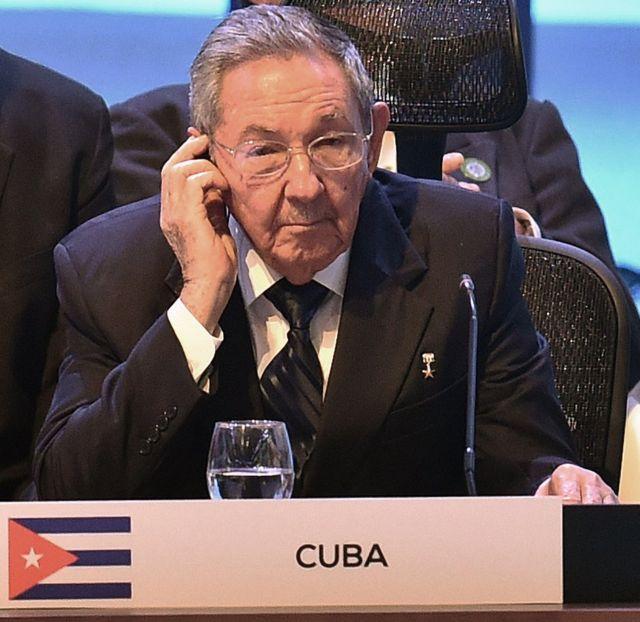 Raúl Castro en la cumbre de Celac 2015