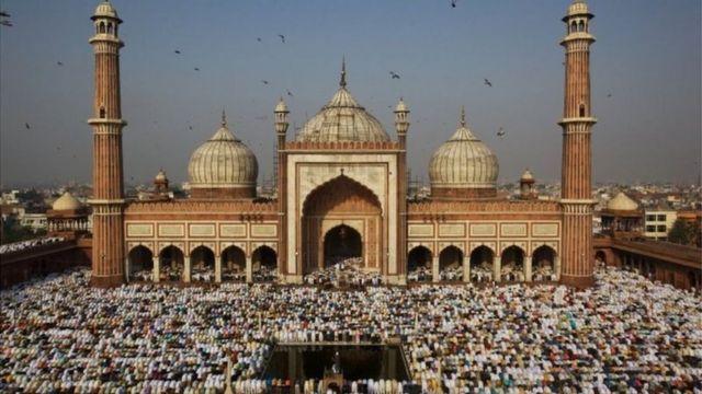 ভারতে বাস করে প্রায় বিশ কোটি মুসলিম