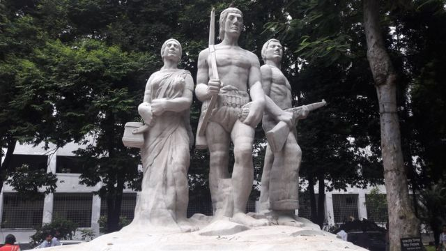 অপরাজেয় বাংলা, ঢাকা বিশ্ববিদ্যালয়।