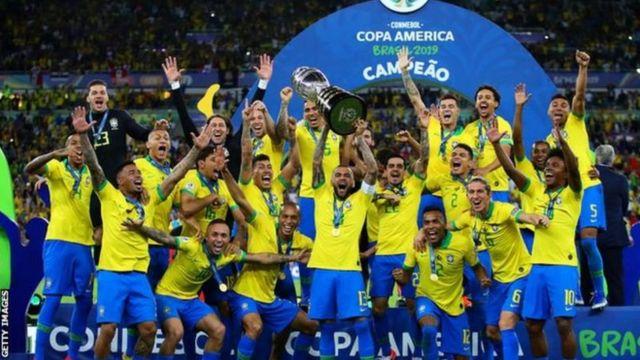 2019'daki son turnuvayı kazanan Brezilya, Uruguay ve Arjantin'den sonra Copa America'yı en fazla kazanan üçüncü ülke