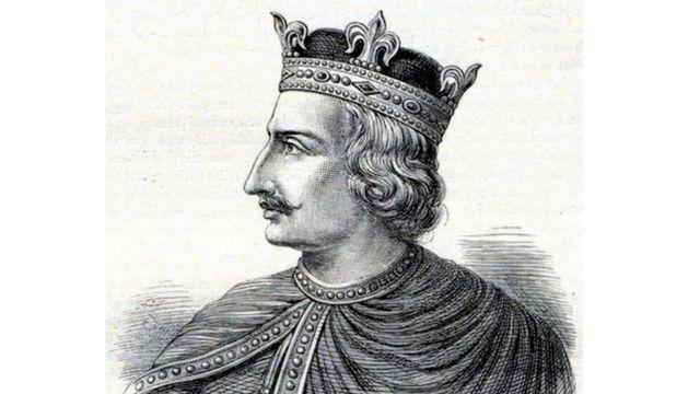 Генрих I, гравюра XIX века