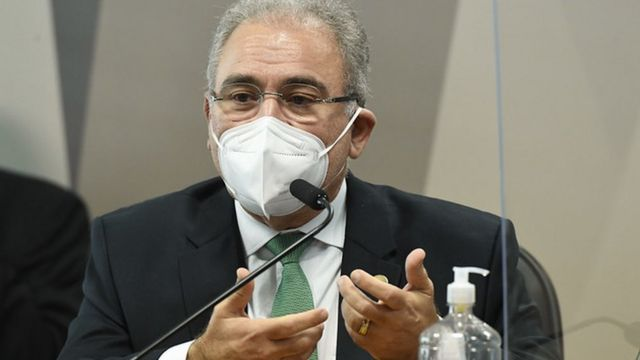 Marcelo Queiroga no Senado