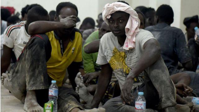 'Yan kasar Masar da Syria da Sudan da Eritrea da kuma Somali na cikin wadanda aka ceto