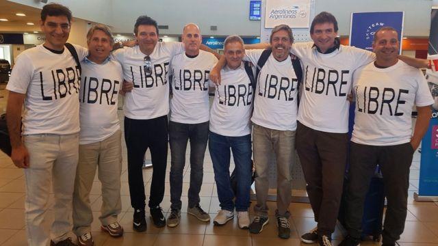Los amigos argentinos