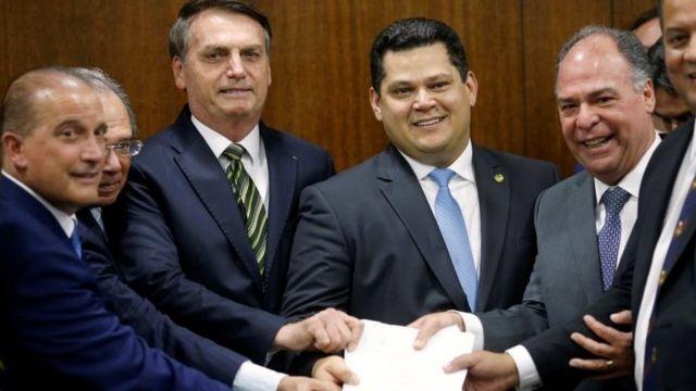 Bolsonaro no Senado