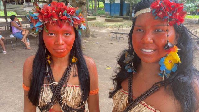 Maristela and Juliana