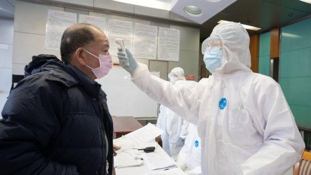 Bệnh nhân bị cách ly tại Vũ Hán, nơi khởi phát dịch bệnh