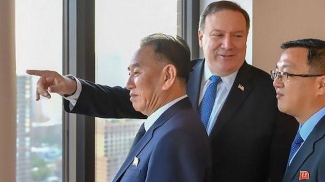 """Ким Чен Ындын """"оң колу"""" аталган генерал Ким Ен Чол Нью-Йорк шаарына келди"""