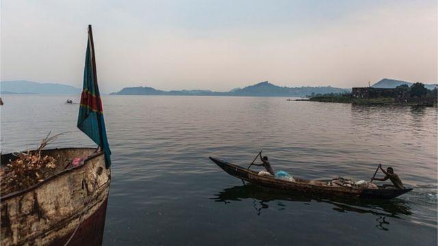 La RDC et l'Ouganda se partagent le lac Edouard situé dans le Nord-Kivu.
