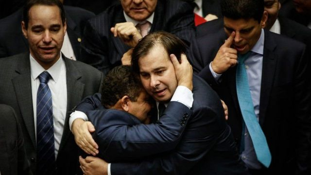 Maia foi apoiado por partidos que queriam fugir de candidato mais próximo a Eduardo Cunha
