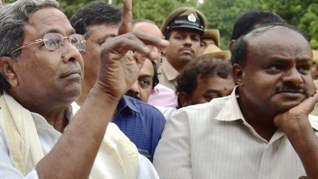 தாக்கு பிடிக்குமா -காங்கிரஸ்- மதசார்பற்ற ஜனதாதள கூட்டணி