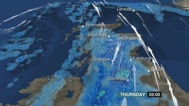 Weather forecast for Scotland