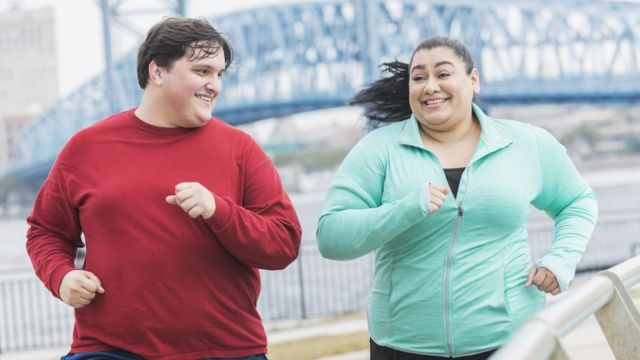 Obesos corriendo