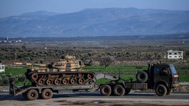 عملیات ترکیه در منطقه عفرین سوریه