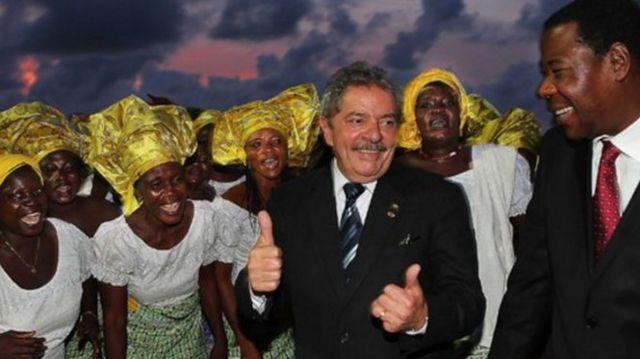 Lula na África