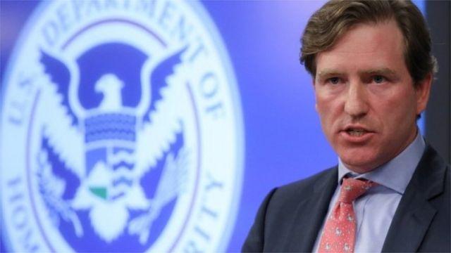 美國網絡安全和基礎設施安全局局長克里斯·克雷布斯(Chris Krebs)資料照片