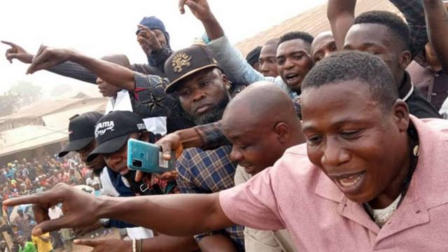 Sunday Igboho: Biography of Sunday Adeyemo, Yoruba activist wey ask Seriki  Fulani Oyo State, herdsmen to quit - BBC News Pidgin