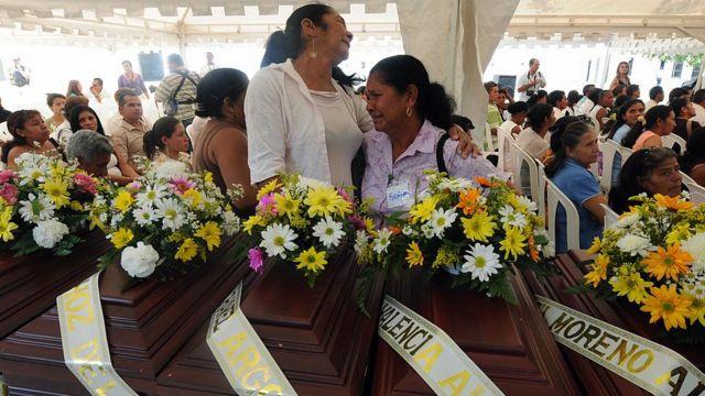 Muertos en el conflicto colombiano