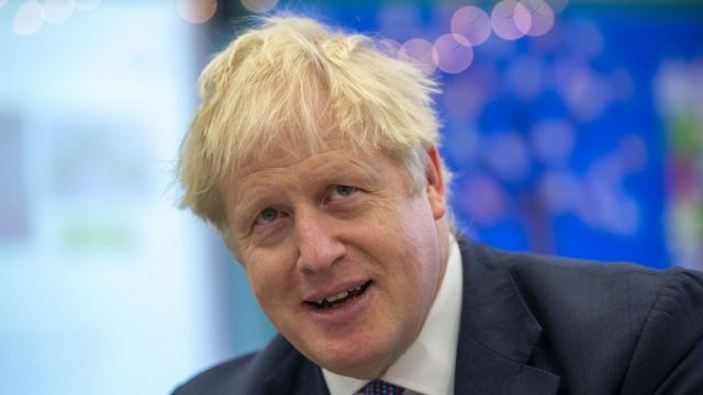 Prime Minister Boris Johnson during a visit to Middleton Primary School in Buckinghamshire. PA Photo. Picture date: Friday October 25, 2019