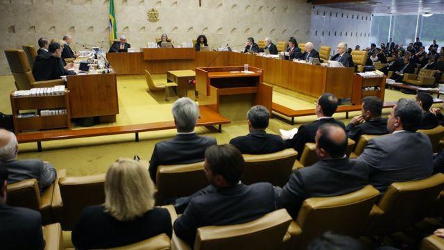 STF durante julgamento
