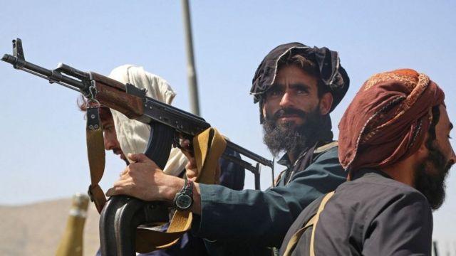 Патруль талибов в Кабуле 16 августа