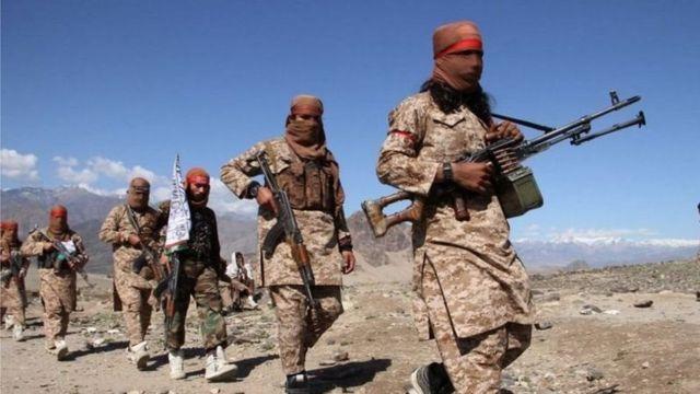 美國及北約盟軍從阿富汗撤出之際,阿富汗塔利班有捲土重來之勢。