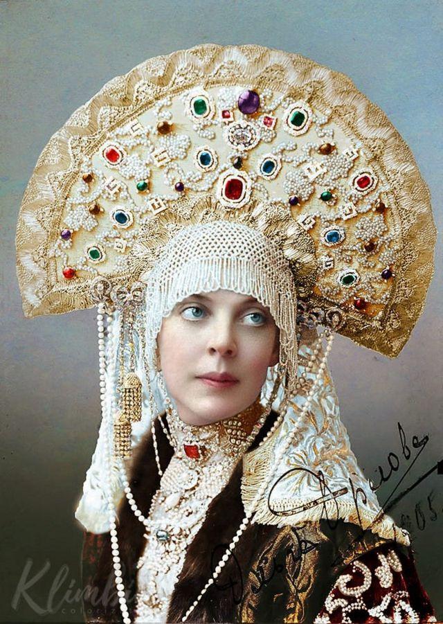 Princess Olga Orlova:羅曼諾夫王室烈士項目:奧爾加•奧爾洛娃公主