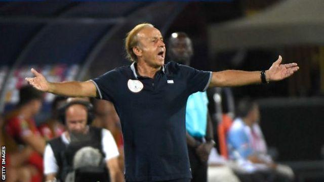 L'entraîneur du Nigeria, Gernot Rohr