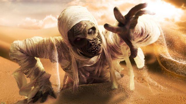 Momia aterradora